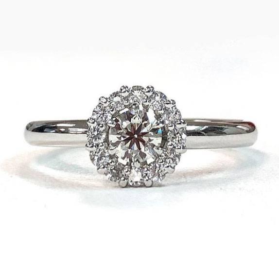 長い指が似合うリング(指輪)ボリューム